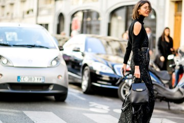Paris fashion Week Street Style September 2015 photo