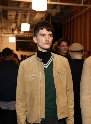 Todd Snyder Fall 2017 Menswear Fashion Show Backstage