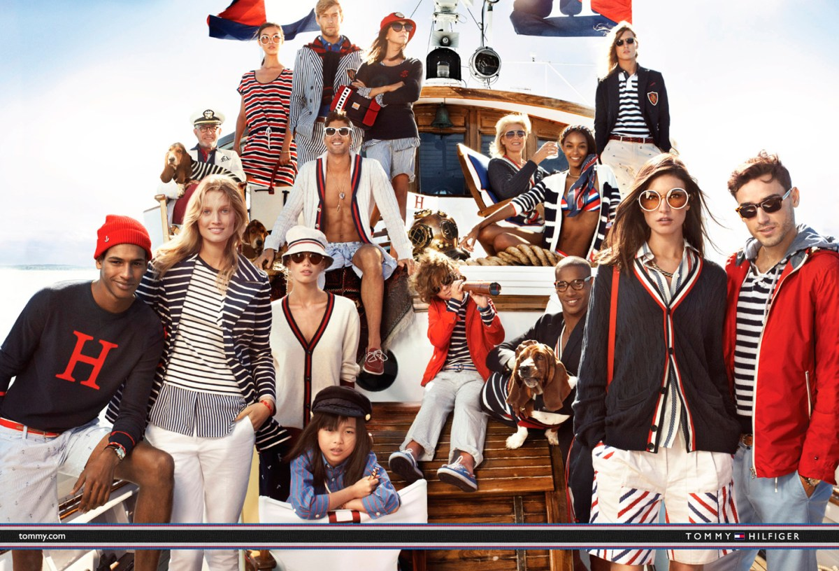 Tommy Hilfiger ad campaign photo