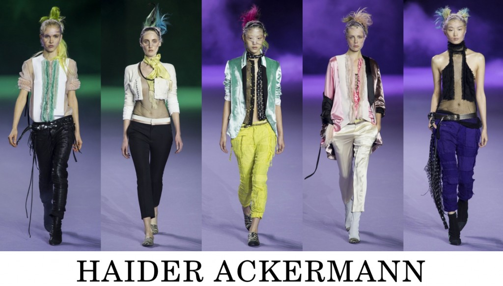 Haider Ackermann Top 10 others spring 2016 fashion show photo