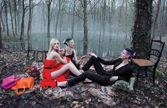 Daria Strokus, Diana Moldovan and Katlin Aas - Christian Dior Campaign, 2013