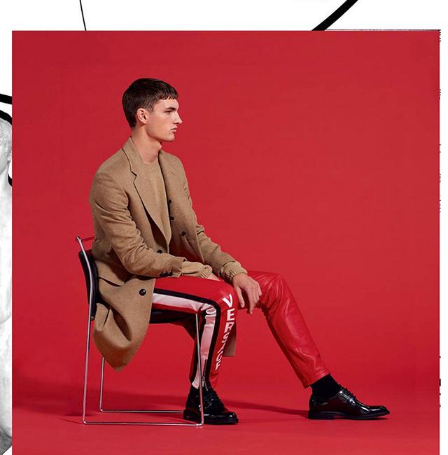 Versace Pre-Fall 2017 Men's Lookbook