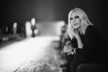 Donatella Versace, Fall 2016, photo Rahi Rezvani.