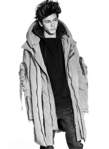 XB OFCL by Brandon Sun Fall 2017 Fashion Show Menswear