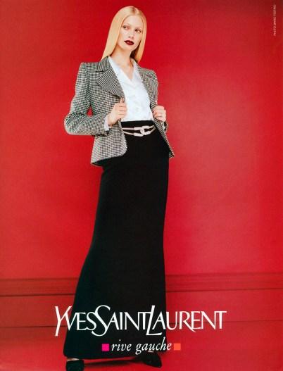 Yves Saint Laurent Rive Gauche FW 1996