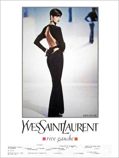 Yves Saint Laurent Rive Gauche SS 1989