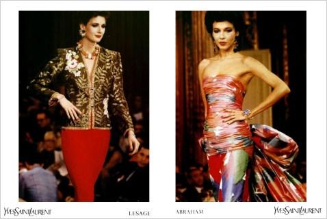 Yves Saint Laurent SS 1985