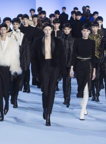 Haider Ackermann Fall 2017 Fashion Show Atmosphere Cont.