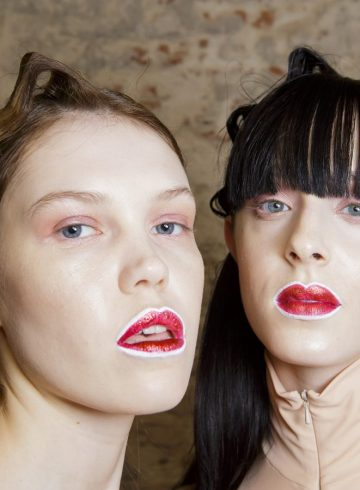 Alberto Zambelli Fall 2017 Fashion Show Backstage Beauty