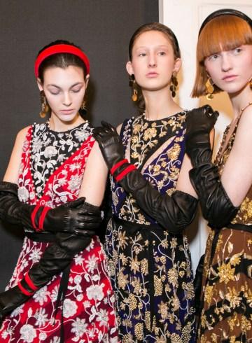 Altuzarra Fall 2017 Fashion Show Backstage