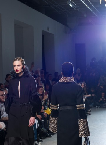 Andrew Gn Fall 2017 Fashion Show Atmosphere