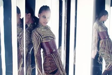 Balmain's Fall 2017 Fashion Film Brings Amazon Warriors Into the Modern Age