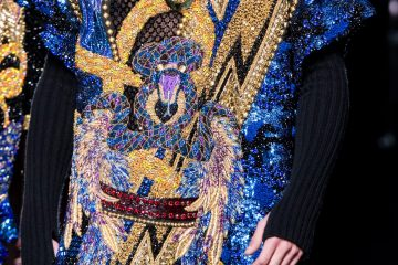 Balmain Homme Fall 2017 Menswear Fashion Show Details
