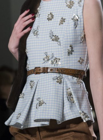 Brock Collection Fall 2017 Fashion Show Details