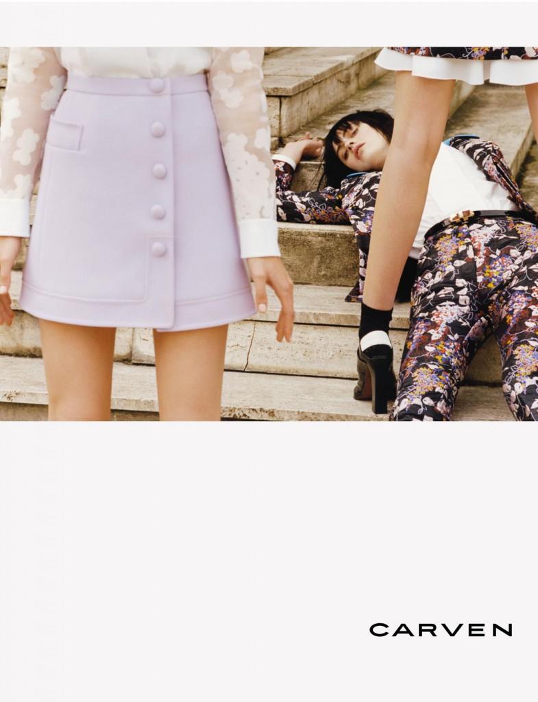 Carven Fall 2015 ad campaign Julien Gallico Photo