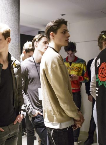 Cerruti Fall 2017 Menswear Fashion Show Backstage