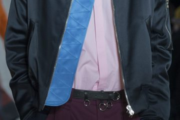 Cedric Charlier Fall 2017 Menswear Fashion Show Details