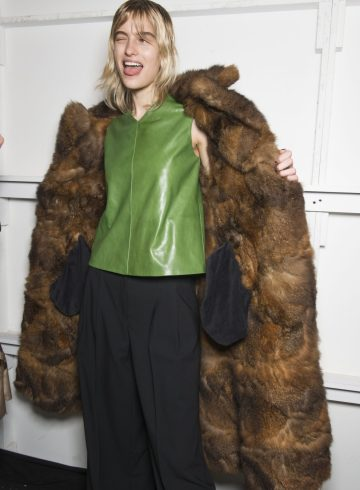 Creatures of the Wind Fall 2017 Fashion Show Backstage