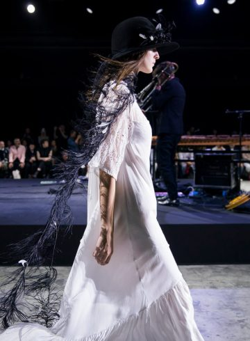 Ann Demeulemeester Spring 2018 Fashion Show Atmosphere
