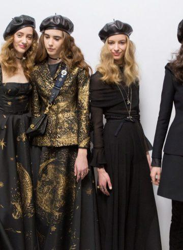 Christian Dior Fall 2017 Fashion Show Backstage
