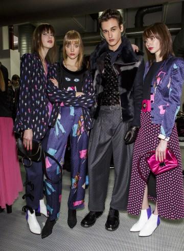 Emporio Armani Fall 2017 Fashion Show Backstage