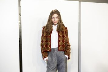 Fendi Fall 2017 Fashion Show Backstage