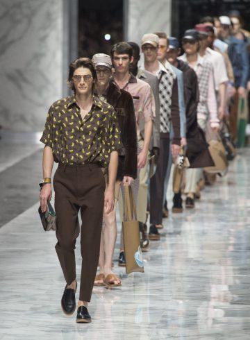 Fendi Spring 2018 Men's Fashion Show Atmosphere