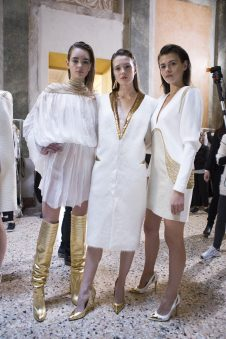 Genny Fall 2017 Fashion Show Backstage