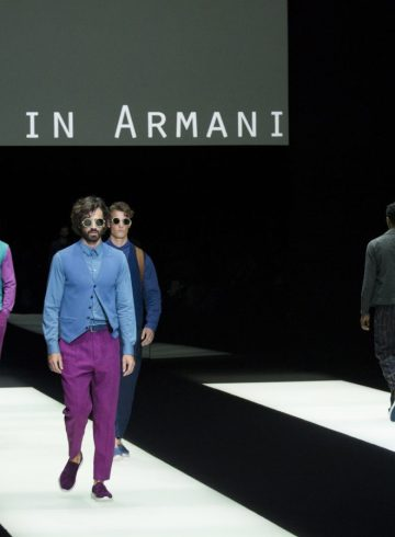 Giorgio Armani Spring 2018 Men's Fashion Show Atmosphere