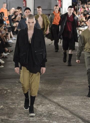 Julius Spring 2018 Men's Fashion Show