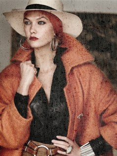 Karlie Kloss, Vogue USA   September 2014