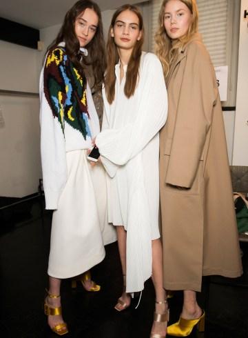 Krizia Fall 2017 Fashion Show Backstage