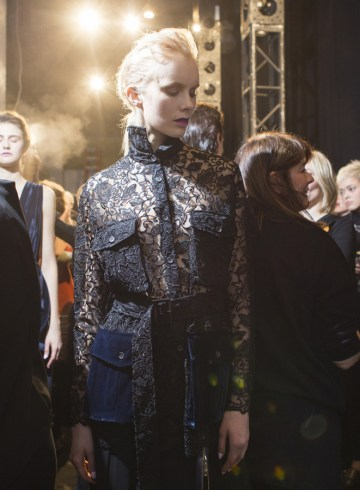 Francesca Liberatore Fall 2017 Fashion Show Backstage