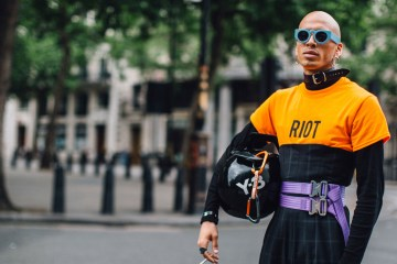 London Fashion Week Men's Street Style Spring 2018 Day 3
