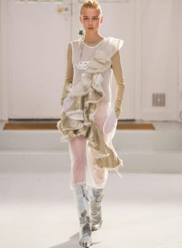 Anne Sofie Madsen Fall 2017 Fashion Show