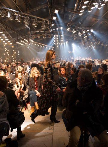 Isabel Marant Fall 2017 Fashion Show Atmosphere