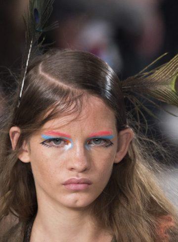 Maison Margiela Fall 2017 Fashion Show Beauty