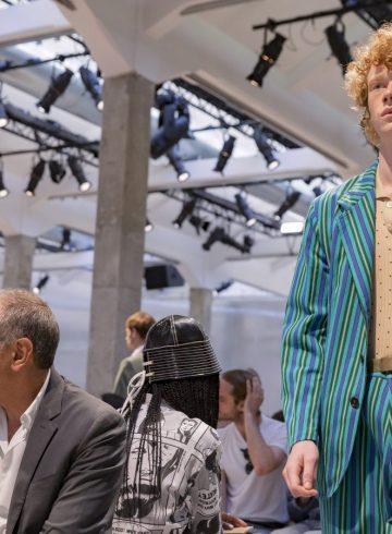 Marni Spring 2018 Men's Fashion Show Atmosphere