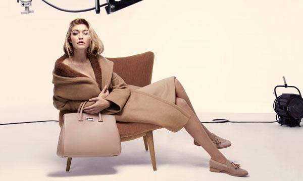Max Mara Gigi Hadid fall 2015 ad campaign photo