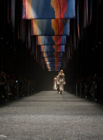 Alexander McQueen Fall 2017 Fashion Show Atmosphere