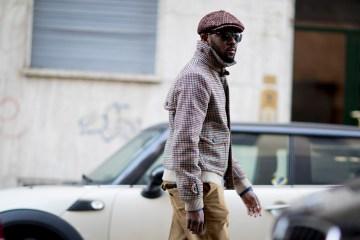 Milan Fashion Week Men's Street Style Fall 2018 Day 1