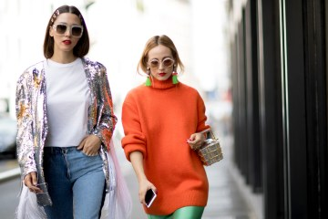 Milan Fashion Week Street Style Spring 2018 Day 4
