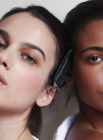 Issey Miyake Spring 2018 Fashion Show Backstage Beauty