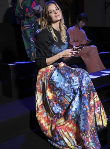 Issey Miyake Fall 2017 Fashion Show Front Row