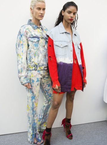 MSGM Spring 2018 Fashion Show Backstage