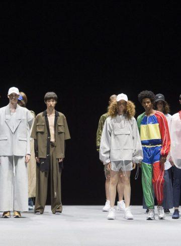 Munsoo Kwon Spring 2018 Men's Fashion Show Atmosphere