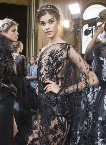 Zuhair Murad Fall 2017 Couture Fashion Show Backstage