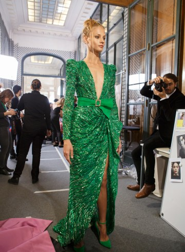 Zuhair Murad Spring 2017 Couture Fashion Show Backstage