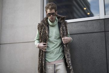 New York Week Fashion Week Men's Street Style Day 3 Fall 2017 - Part 3