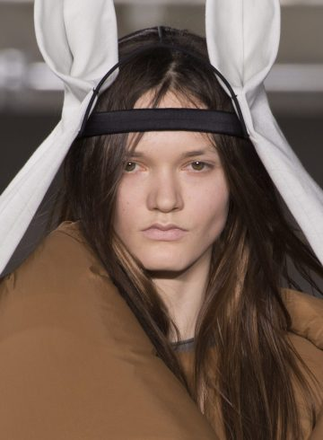Rick Owens Fall 2017 Fashion Show Beauty